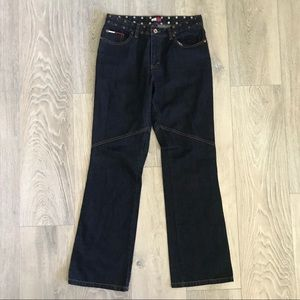 High waisted Tommy and Hilfiger Jeans